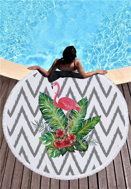 Beach Towel Pizza Hamburger Donut Slice Soft Beach Pool Home Shower Towel