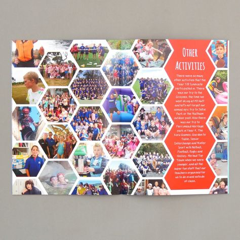 We are one of New Zealand's most creative school yearbook companies, but don't take our word for it! Elementary Yearbook Ideas, Teaching Yearbook, Yearbook Staff, Yearbook Pages, Yearbook Covers, Yearbook Spreads, Senior Yearbook Ideas, Yearbook Theme, Yearbook Design Layout