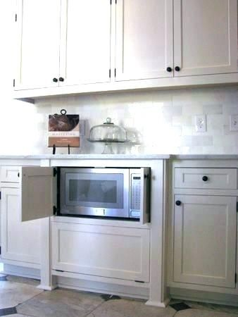 In Cabinet Microwave Built In Microwave Cabinet Microwave Kitchen Cabinets Built In Cabinet Oven Regarding Deco In 2020 Built In Microwave Cabinet Home Kitchen Remodel