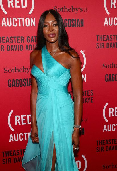 Model Naomi Campbell attends the (RED) Auction 2018 at the Moore Building.