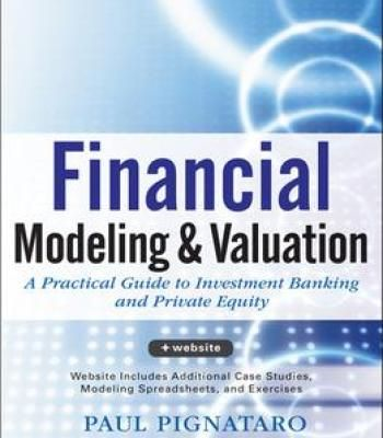 Financial Modeling And Valuation Pdf Financial Modeling