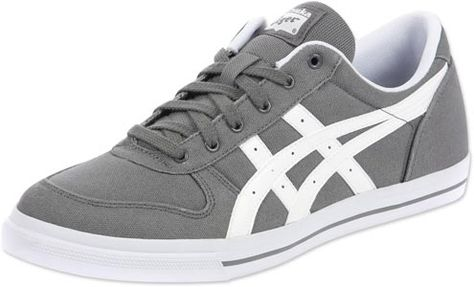 cheapest price great prices best selling Asics Tiger Aaron CV shoes grey white | Grey, Shoes ...