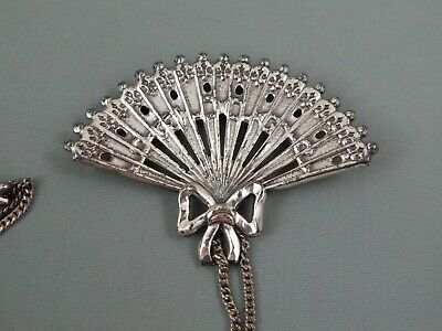 Lang Sterling Silver Flower Brooch Signed Lang Marked Sterling 1 14 x 2 28 Very Nice! 5 Grams