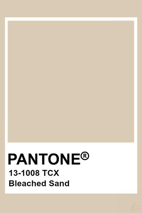 Pantone Bleached Sand