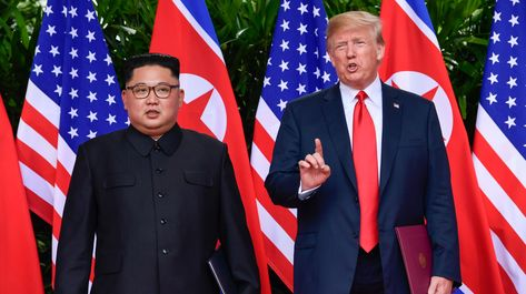 The president, who met with the North Korean leader over the summer, said progress was being made on agreements from the Singapore summit.