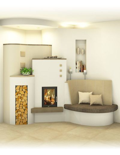Modern And Traditional Tiled Stove Sigmund Ovens And Tiles Modern Ovens Sigmund Stove Tile In 2020 Traditional Bedroom Decor Home Fireplace Country Living Room