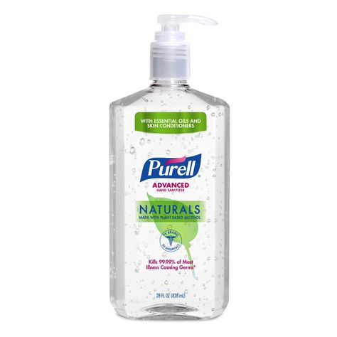 Purell Hand Sanitizer Naturals 28oz Hand Sanitizer Alcohol