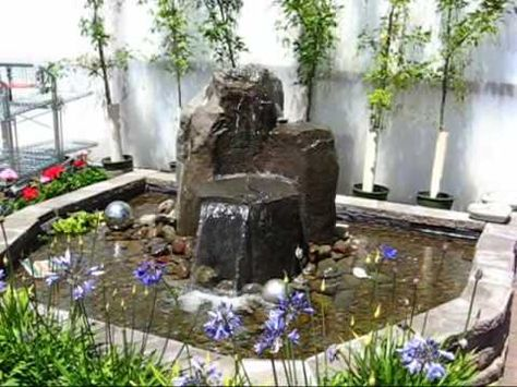 How To Build A Waterfall Using Retaining Wall Block