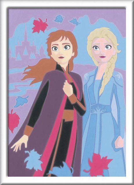 Malen Nach Zahlen Disney Frozen Ii Schwesternliebe Malen Nach Zahlen Disney Frozen Disney