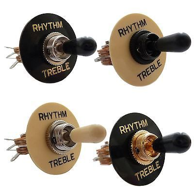 3 Way Straight Toggle Switch Surround For Gibson Les Paul Sg Epiphone Etc Epiphone Toggle Switch Epiphone Guitars