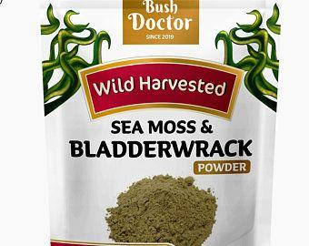 102 Minerals Irish Sea Moss Irish Moss Bladderwrack Burdock Etsy Sea Moss Natural Doctor Herbalism
