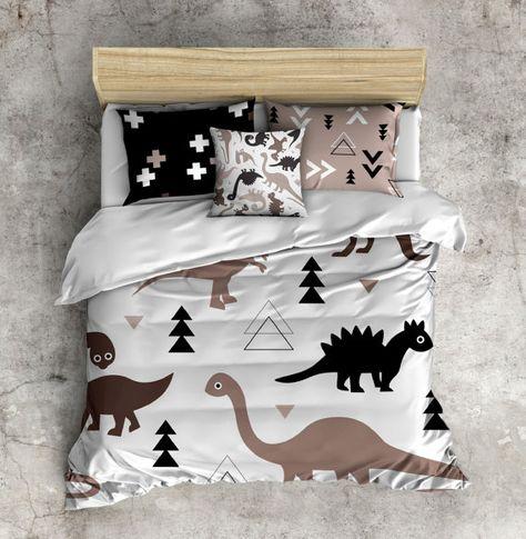 My 1st Big Boy Bed Set Dinosaur Comforter Dino by InkandRags