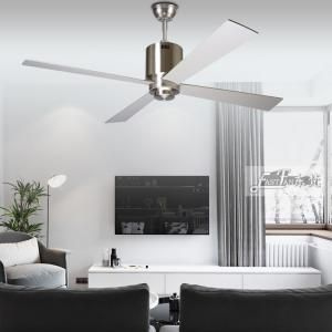 Proud Ef52069b Brushed Nickel Ceiling With Four Plywood Blades Ceiling Fan In 2020 Ceiling Fan Ceiling Fan With Light Ceiling
