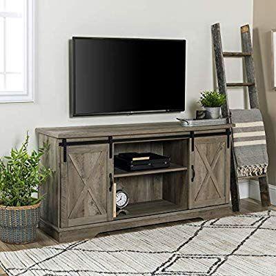 Amazon Com Walker Edison We Furniture Az58sbdsw Tv Stand 58