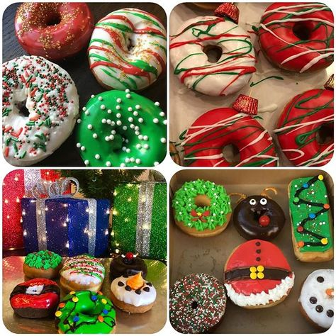 Donut What To Give For Christmas Check Out These Ideas From Urbandonut And Let Them Know What They Can Create For You Holiday Donuts Donut Makers Christmas