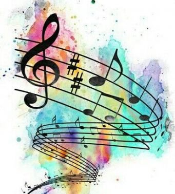 58+ New Ideas For Tattoo Watercolor Music Backgrounds #tattoo #music