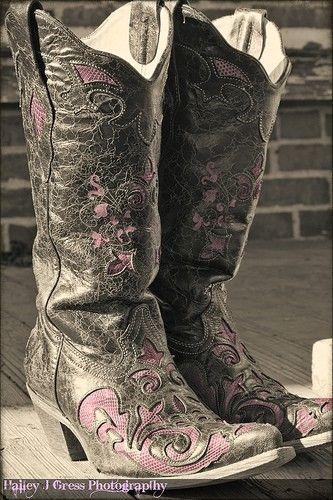 #vintage boots, #cowboy boots,