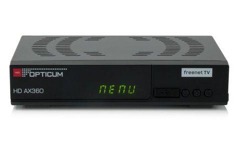 Ax 360 Freenet H 265 Dvb T2 Receiver Dvb T2
