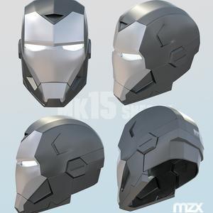 Mark 16 Helmet 3d Printable In 2021 Helmet Iron Heart Marvel Nightwing Cosplay