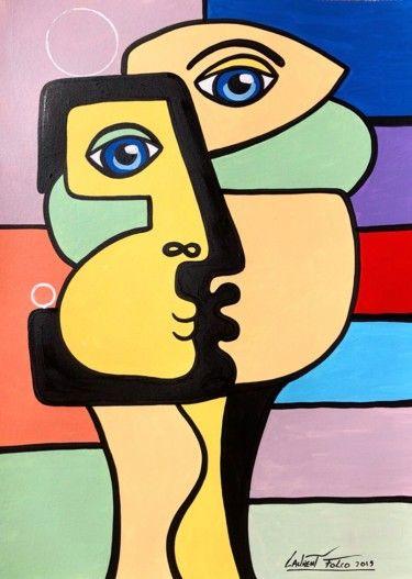 Idee Par Tomart Sur Malba Art Cubiste Aquarelle Abstraite Abstrait