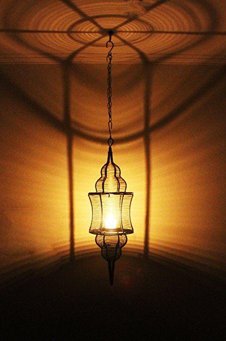 Maades Orientalische Laterne Aus Metall Sintra 60cm Schwarz Orientalisches Marokkanisches Windlicht Hangen Orientalische Laterne Hangelaternen Metall Laterne