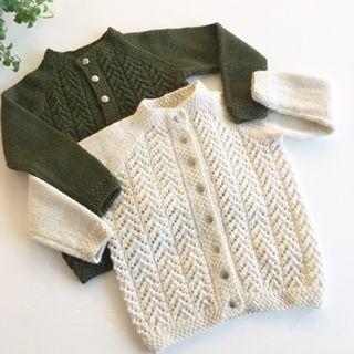 Ravelry: Hjerteranke jakke pattern by Be charmed by JMHK