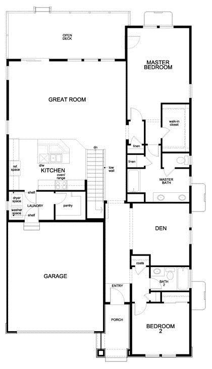 Greenland Modeled New Home Floor Plan In Trailside Patio Homes Floor Plans House Plans Luxury Floor Plans