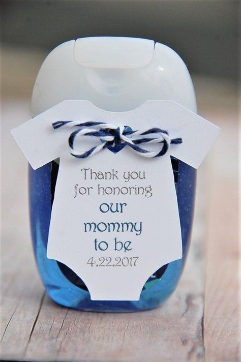 10 tags ~ Thank you for honoring our mommy to be ~ Sanitizer Baby Shower ~ Sprinkle ~ Party Favor ~