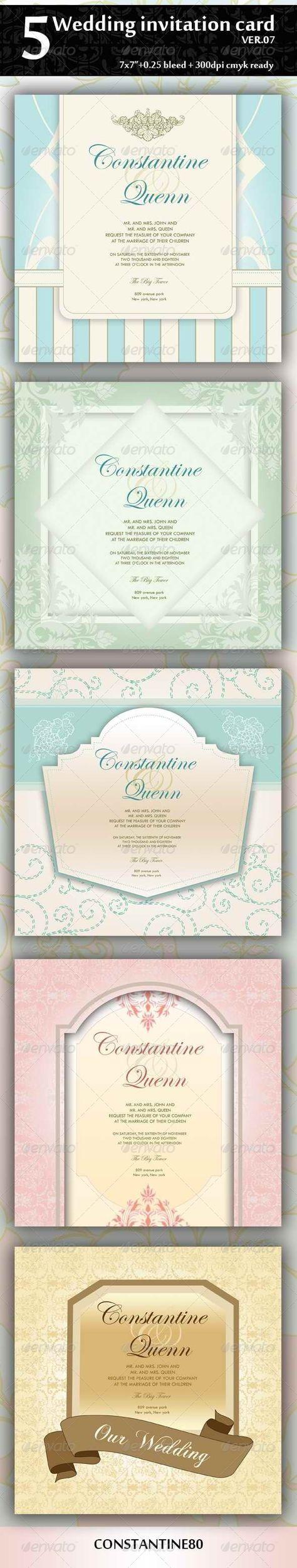 Wedding Invitation Photoshop Invitations And