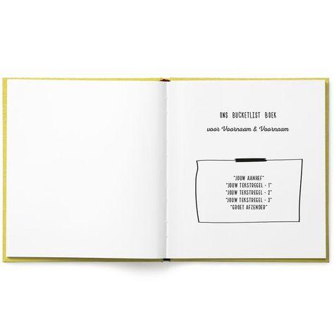 Het Bucketlist boek voor ouders – Softcover