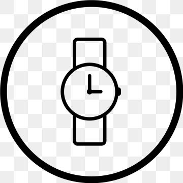 Vector Watch Icon Clock Time Watch Png Transparent Clipart