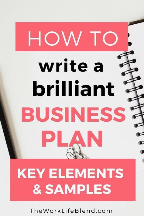 How to Write a Brilliant Business Plan with links to some amazing FREE business plan templates.