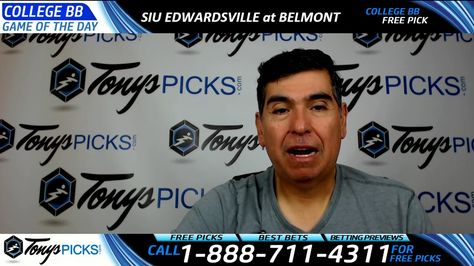 SIU Edwardsville vs  Belmont Free NCAA Basketball Picks and