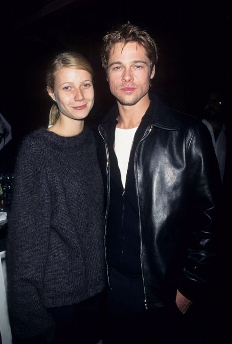 Pin for Later: 18 Actors Who Couldn't Seem to Stop Dating Their Costars Gwyneth also dated Brad Pitt, her costar in 1995's Seven. They split in 1997 after three years together.