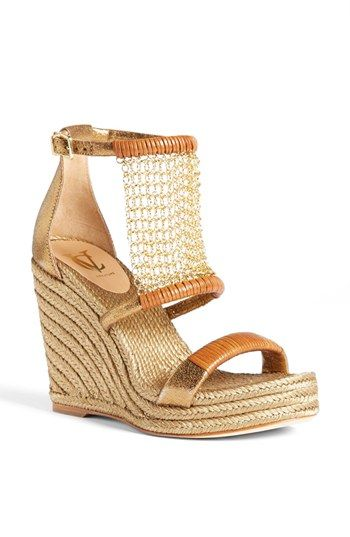 VC Signature 'Dellah' Wedge Sandal available at #Nordstrom. Just got these today! They are perfection!!!
