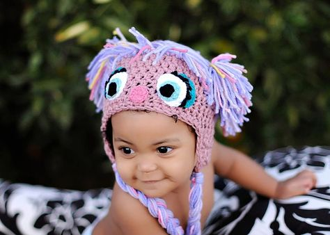 PDF Purple Puppet Crochet PATTERN