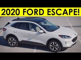Here Are All The 2020 Ford Escape Paint And Interior Colors Autoblog Colorful Interiors Ford Interior Paint