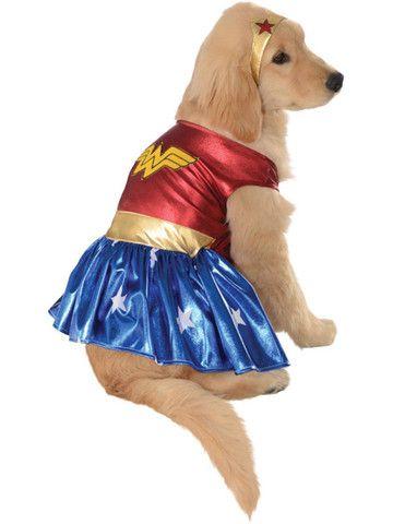 Wonder Woman Deluxe Dog Costume Sponsored Pet Halloween