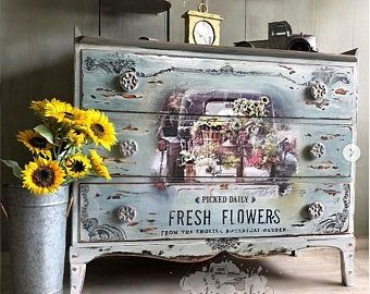 Furniture Decals Chatellerault Roses By Redesign With Prima Etsy In 2020 Flower Furniture Rub On Transfers Floral Furniture