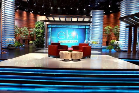 The Ellen Degeneres Show Set Design Gallery Tv Set Design Set