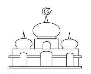 Gambar Masjid Kartun Mudah Nusagates