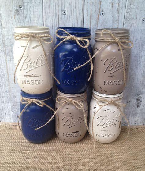 Super Baby Shower Boy Decorations Rustic Mason Jars Ideas