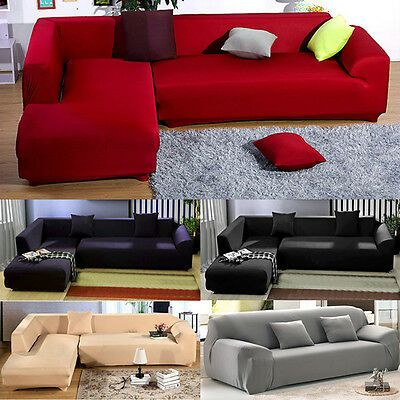 Advertisement Bedroom 2 3 Seater L Shape Sofa Cover Pillowcase Slipcovers Elastic Washable Pgs Couch Covers Slipcovers Fabric Sofa Cover Ektorp Sofa Cover
