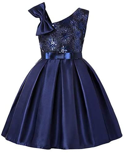 MSFENG Big Little Toddler Girl Formal Dresses Holiday for Tea Party Birthday Graduation