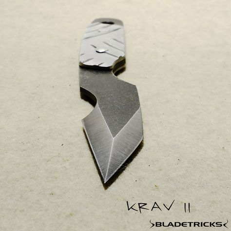 edc Knife maker Bladetricks Krav...