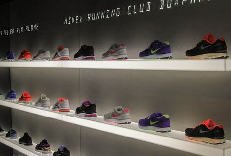 Nike FuelStation interactive store in London's Shoreditch