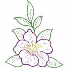 Resultado De Imagen Para Flores Para Dibujar Bordado De