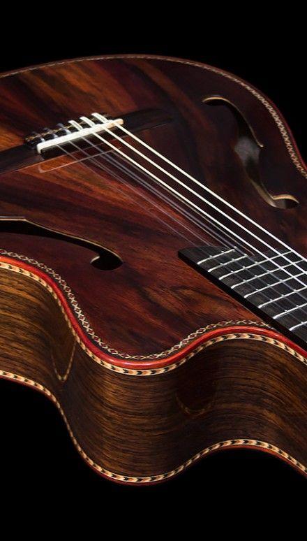 Indonesian Rosewood Back Sides Top Stradivarius Model Double Top Concert Classical Guitar Guitar Building Handmade Guitar Guitar