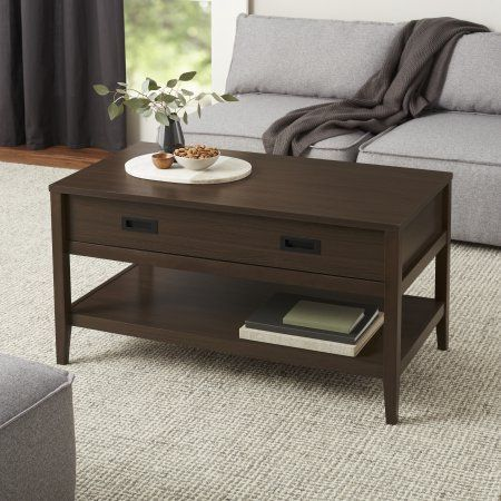 Better Homes Gardens Fillmore Coffee Table Brown With Images
