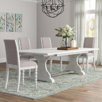 Lark Manor Saguenay 5 Piece Extendable Dining Set Dining Table Furniture Dining Table In Kitchen